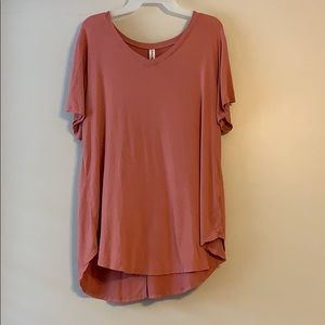 Tops - Ladies blush top